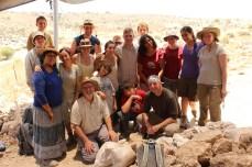 Area E field crew, 2013