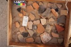 Ceramic fragments from EBA levels at Area E 2013