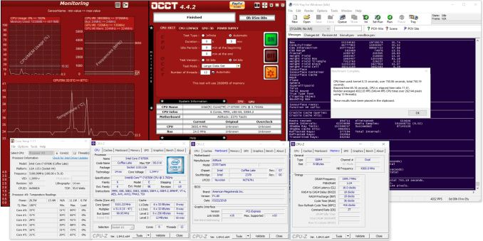 The ASRock Z370 Taichi Motherboard Review: Competitive at