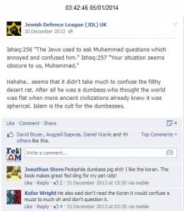 Abuse at Muslims