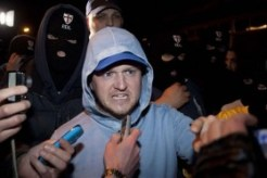 Tommy Robinson Lashing Out