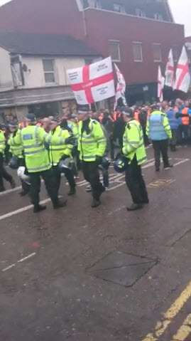 EDL Luton March