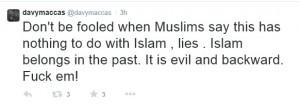 Muslims fuck' em