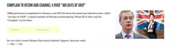 Britain First UKIP support