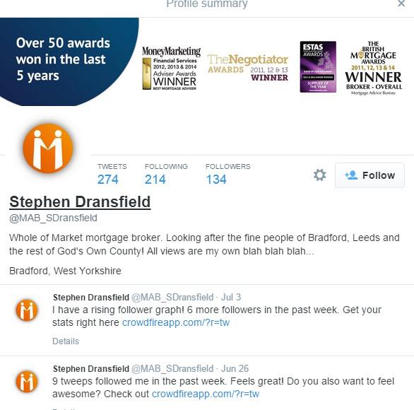 Who is Steven Dransfield