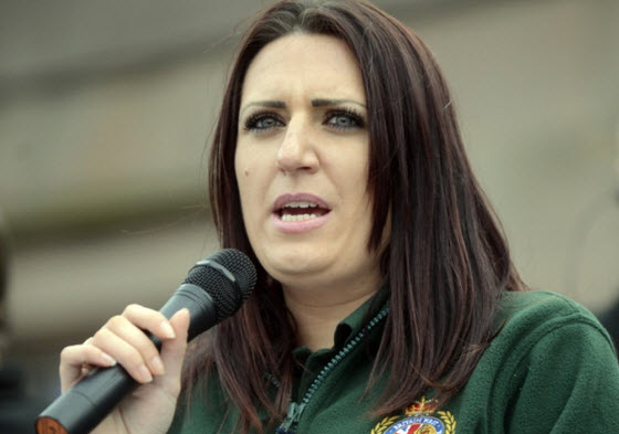 Deputy leader of Britain First tweets debunked anti-Muslim hoax leaflet