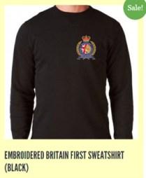Britain First merchandising
