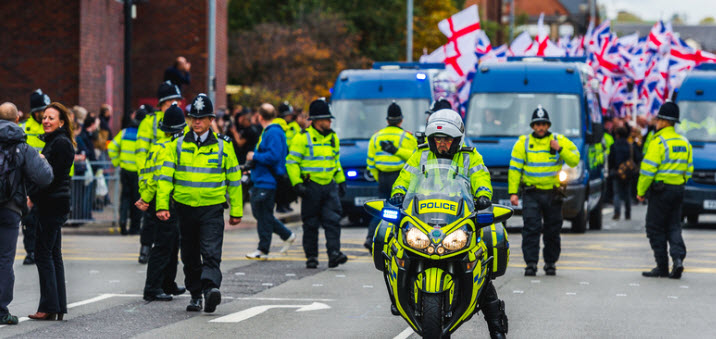 Extremist Far Right Group Britain First State 'London is Finished as a British City'