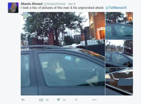 Akeela Ahmed - man being abusive