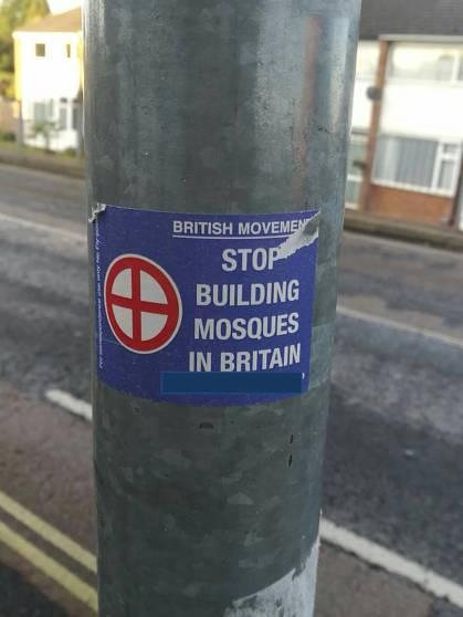 British Movement Stickers in Blackwater, Surrey
