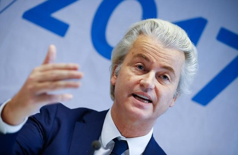 Wilders at Dutch campaign launch vows to crack down on 'Moroccan scum'