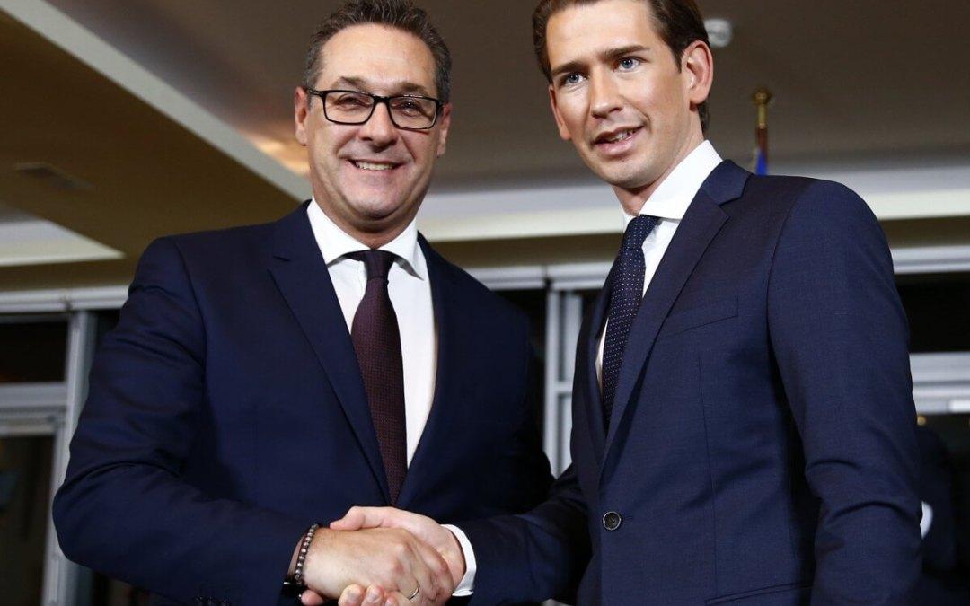 Austrian conservatives bring far right into government