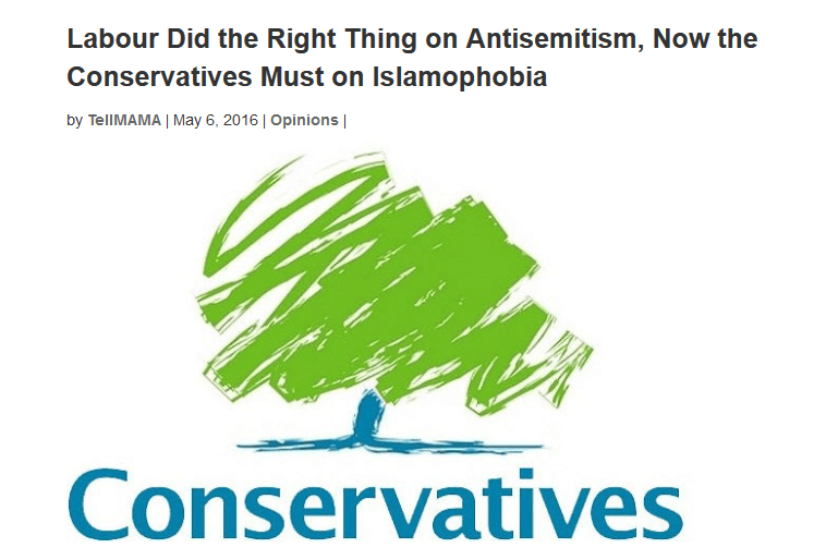 Tories urged to launch an independent inquiry into Islamophobia