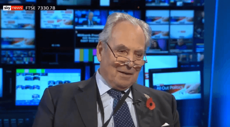 Lord Pearson promotes the Muslim birthrates conspiracy on Sky News