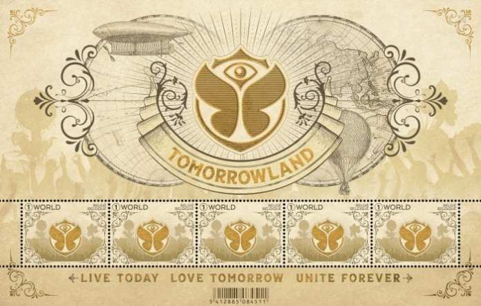 Tomorrowland postzegel