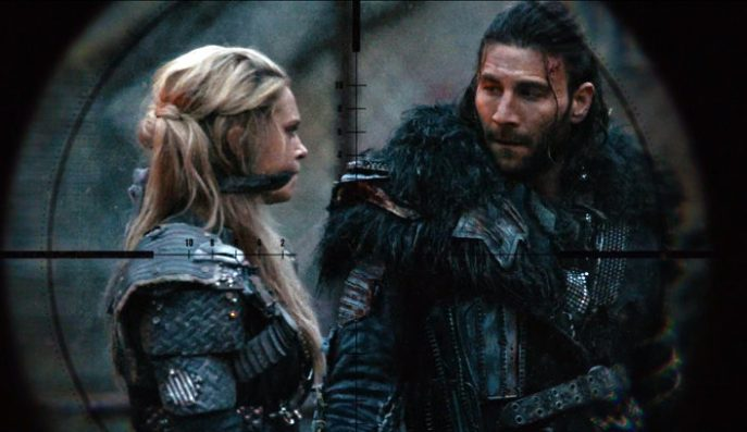 the 100 season 3 Clarke and Roan