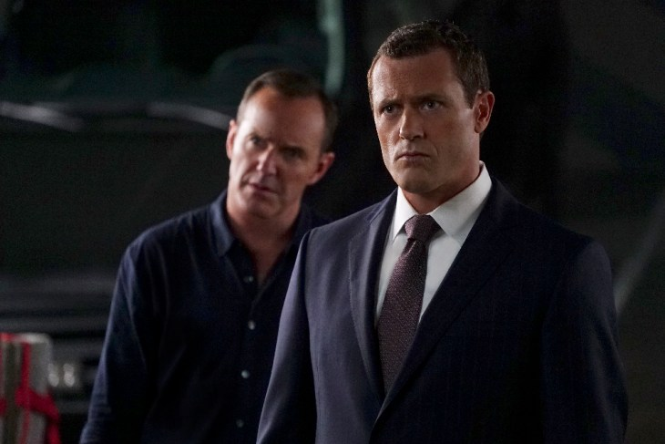 "MARVEL'S AGENTS OF S.H.I.E.L.D. - ""The Good Samaritan"" - Robbie's shocking story on how he became Ghost Rider is finally discovered as Coulson and his team's lives hang in the balance, on ""Marvel's Agents of S.H.I.E.L.D.,"" TUESDAY, NOVEMBER 1 (10:00-11:00 p.m. EDT), on the ABC Television Network. (ABC/Eric McCandless)"