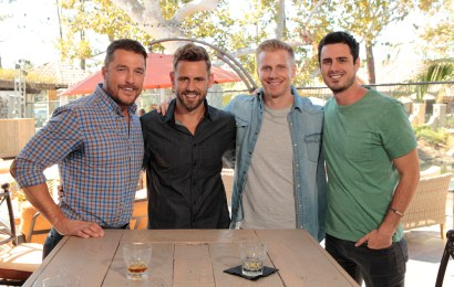"THE BACHELOR - ""Episode 2101"" - A trio of popular former Bachelors - Sean Lowe, Chris Soules and Ben Higgins –offer their support and encouragement to Nick, who will face all new pressures and responsibilities on the highly anticipated 21st season premiere of ""The Bachelor,"" MONDAY, JANUARY 2 (8:00-10:00 P.M., ET), on the ABC Television Network. (ABC/Rick Rowell)"