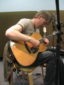 Martyn Joseph performs a live session for 101.5 UMFM.