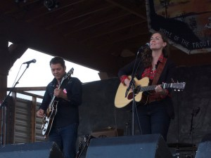Chris Gauthier & Catherine MacLellan at Trout Forest Music Festival