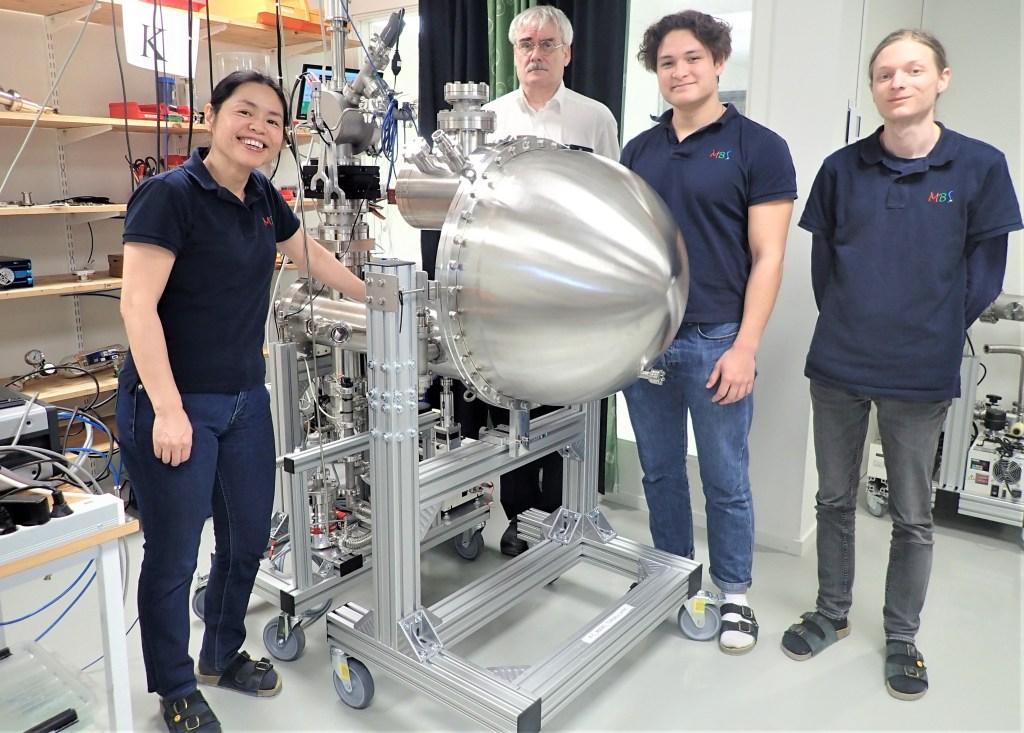 De anställda vid MB Scientific AB i Uppsala.
