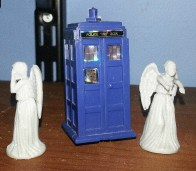 Mini Angels and TARDIS