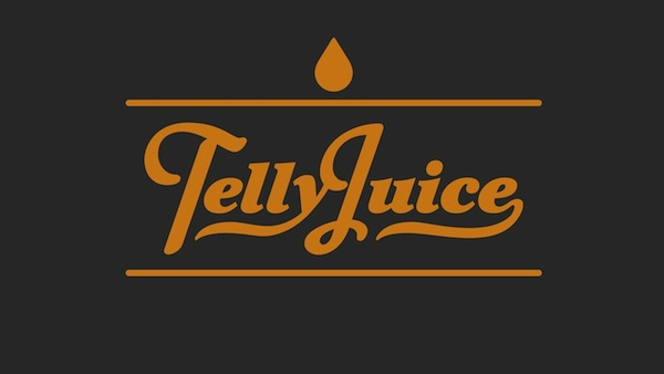 TellyJuice Juicy Jaffa Orange logo