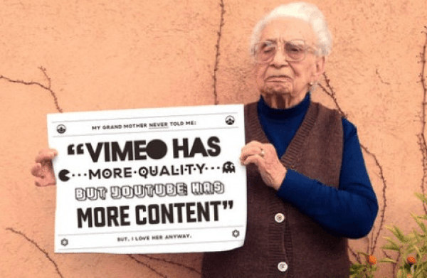 grandma corporate video production company