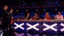 Britain's Got Talent 2019 live shows - Ant and Dec with the judges