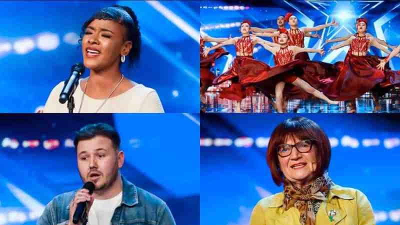 britains got talent 2019 line up friday tonight line up
