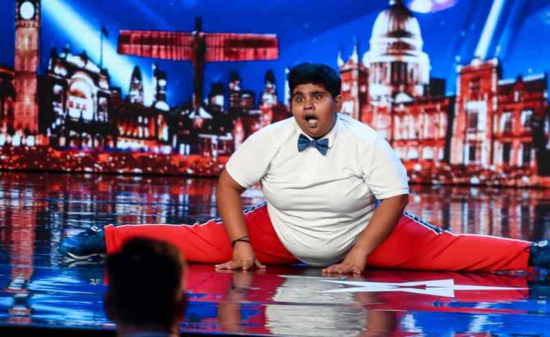 Dancer Akshat Singh (Ant and Dec's golden buzzer)