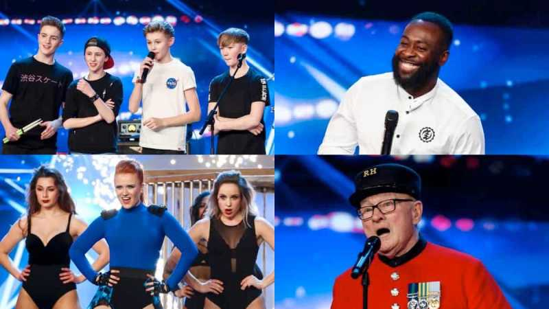 britains got talent 2019 wednesday line up