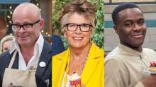 New Junior Bake Off stars Harry Hill, Prue Leith and Liam Charles