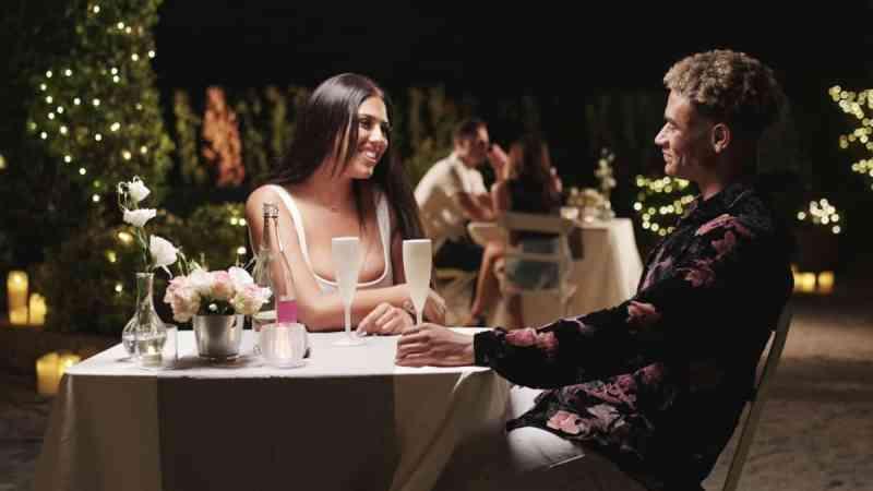 Jordan and Anna date.