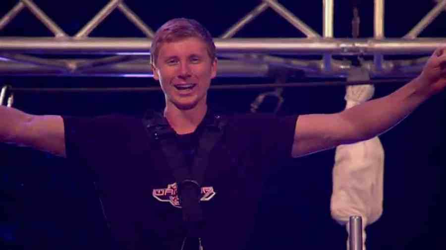 Ninja Warrior UK's first winner Tim Champion