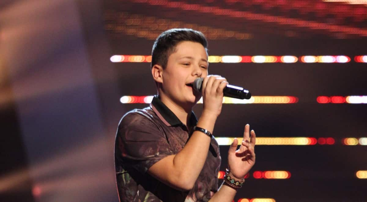 Danny performs
