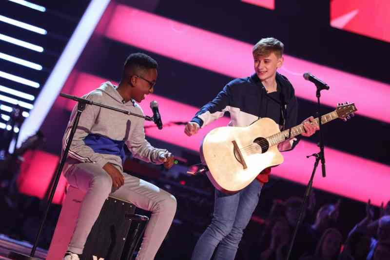 David and Ammani perform