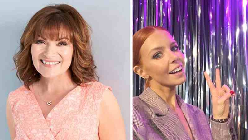 Lorraine Kelly and Stacey Dooley