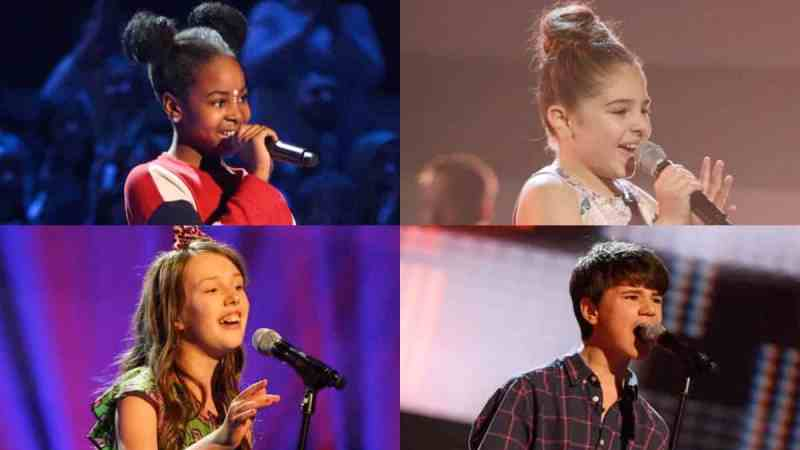 the voice kids final four