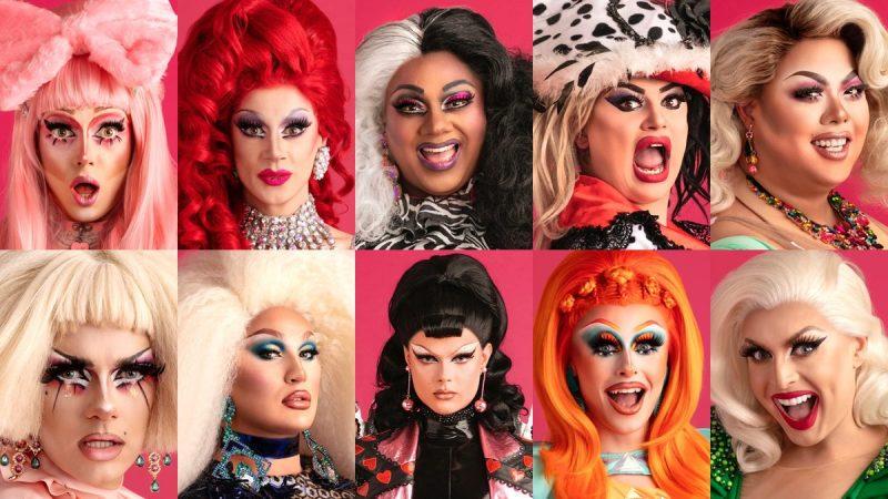 Rupaul U0026 39 S Drag Race Uk Contestants  Meet The Queens In The