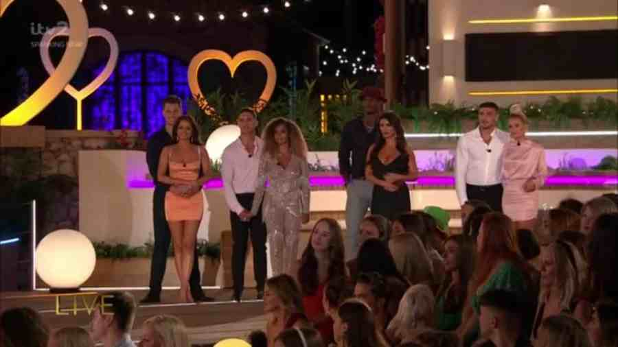 love island results voting figures percentages