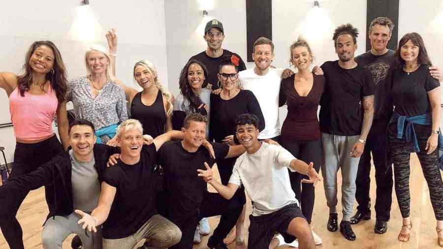 strictly come dancing rehearsal