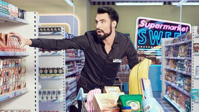Rylan Clark-Neal presenting Supermarket Sweep