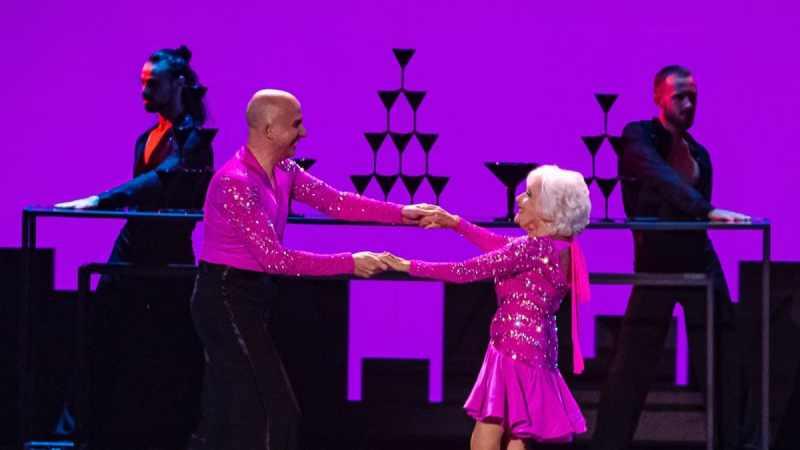 Salsa dancers Paddy & Nico