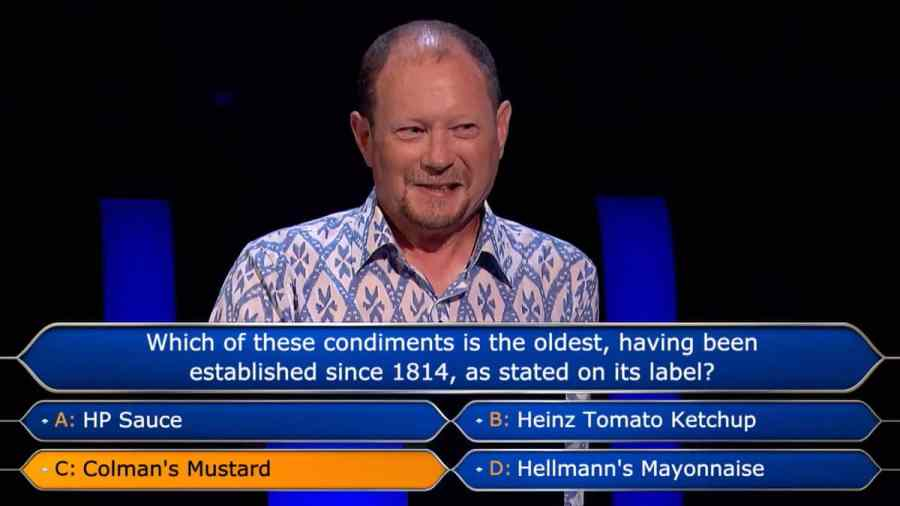 Who Wants To Be A Millionaire? contestant Davyth Fear