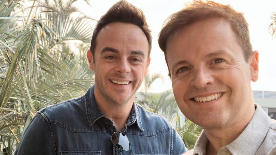 ant and dec im a celebrity