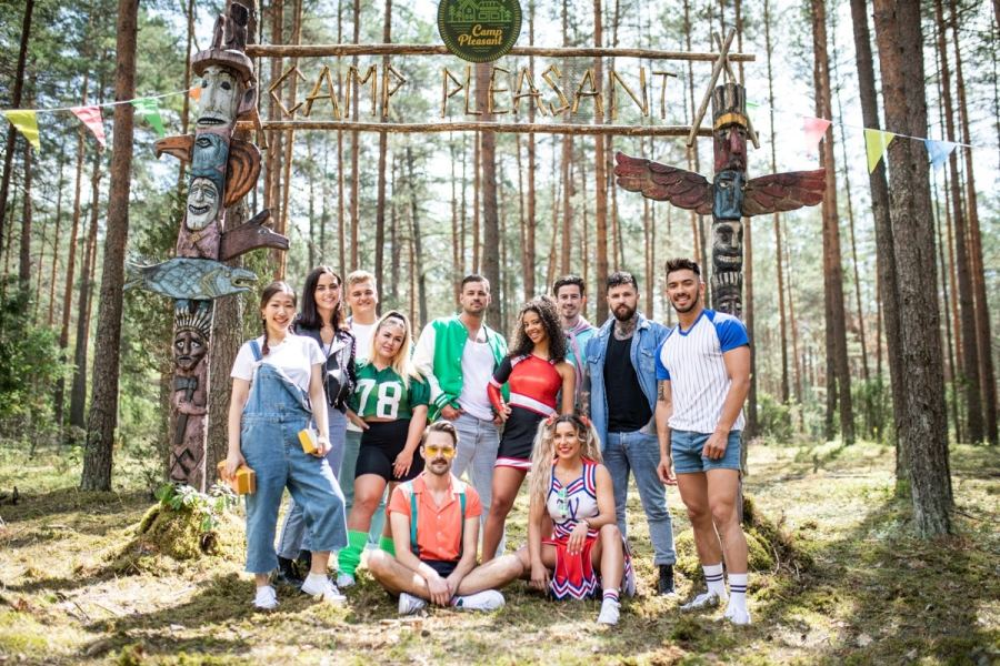 Killer Camp on ITV2 cast