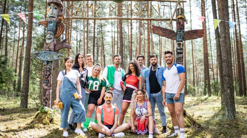 Killer Camp on ITV2 cast