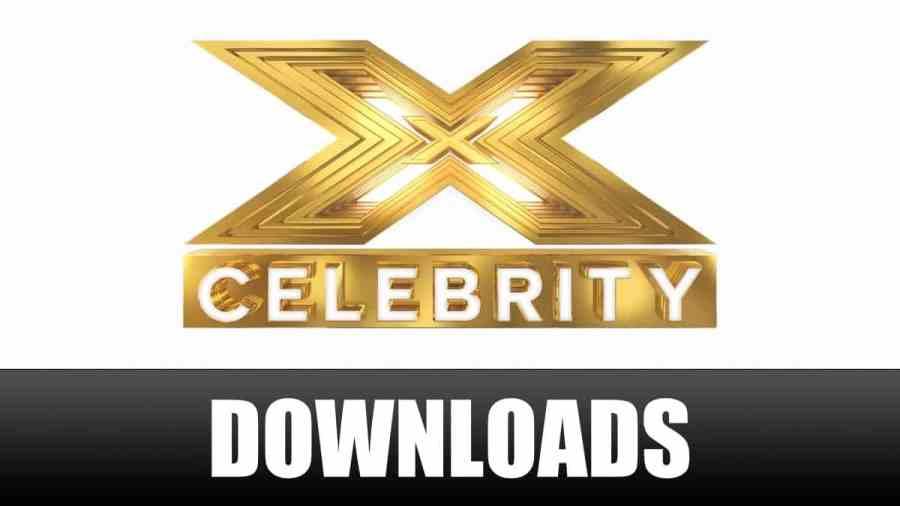 x factor celebrity downloads