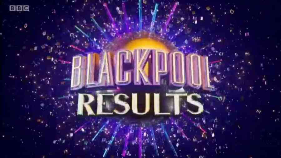 blackpool results strictly come dancing generic